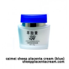 Caimei Sheep Placenta Blue - Moisturizing Cream