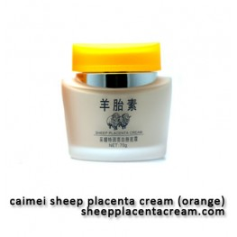Caimei Sheep Placenta Orange - Whitening Foundation Cream